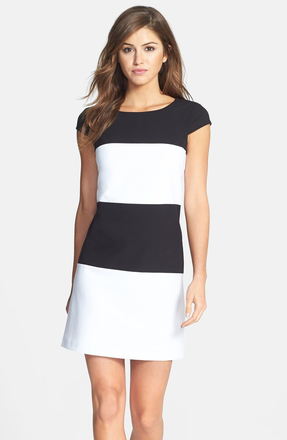 Alternate Image 1 Selected - Marc New York by Andrew Marc Stripe Shift Dress