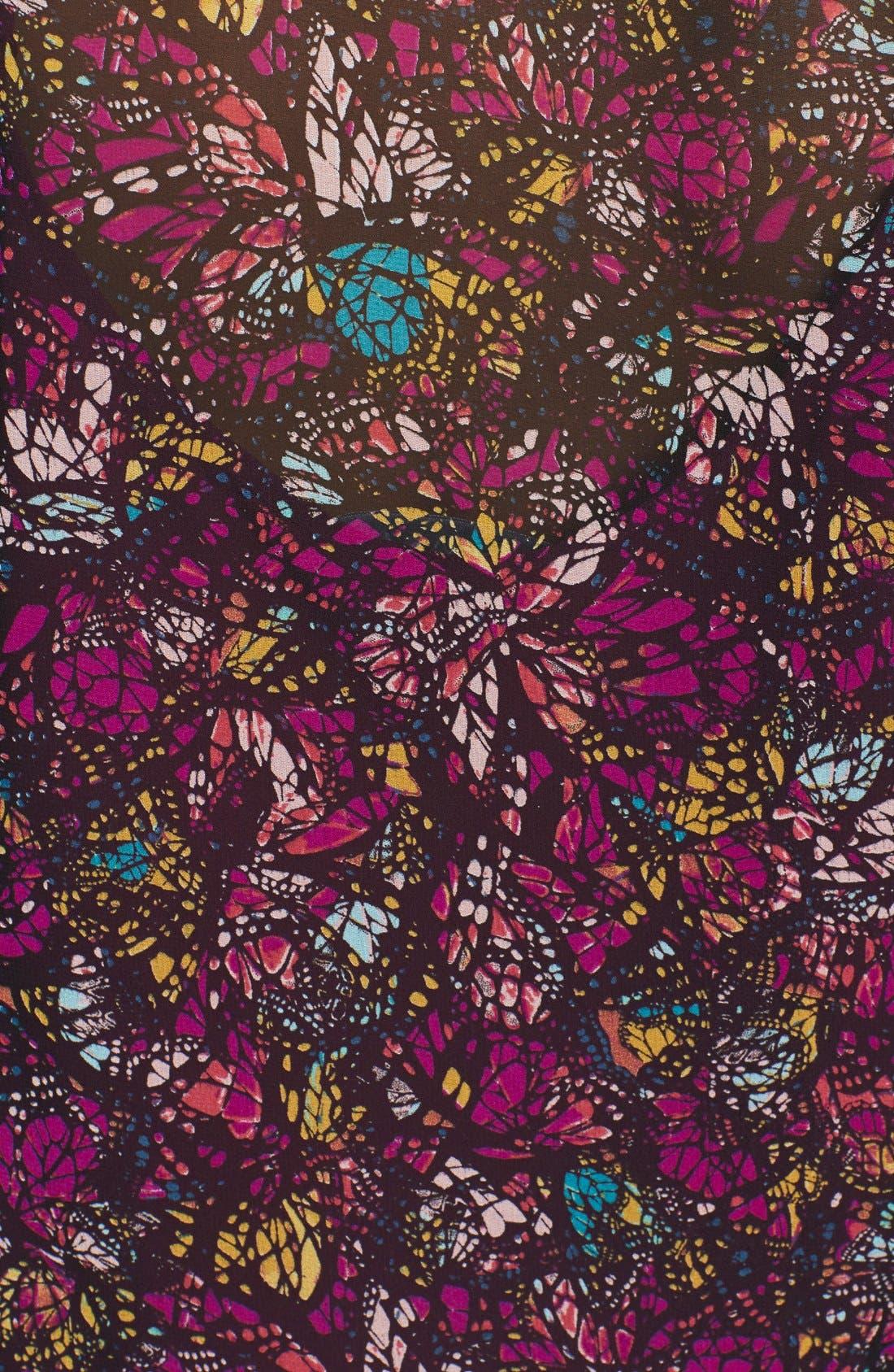Alternate Image 3  - WAYF Floral Kimono Sleeve Cardigan