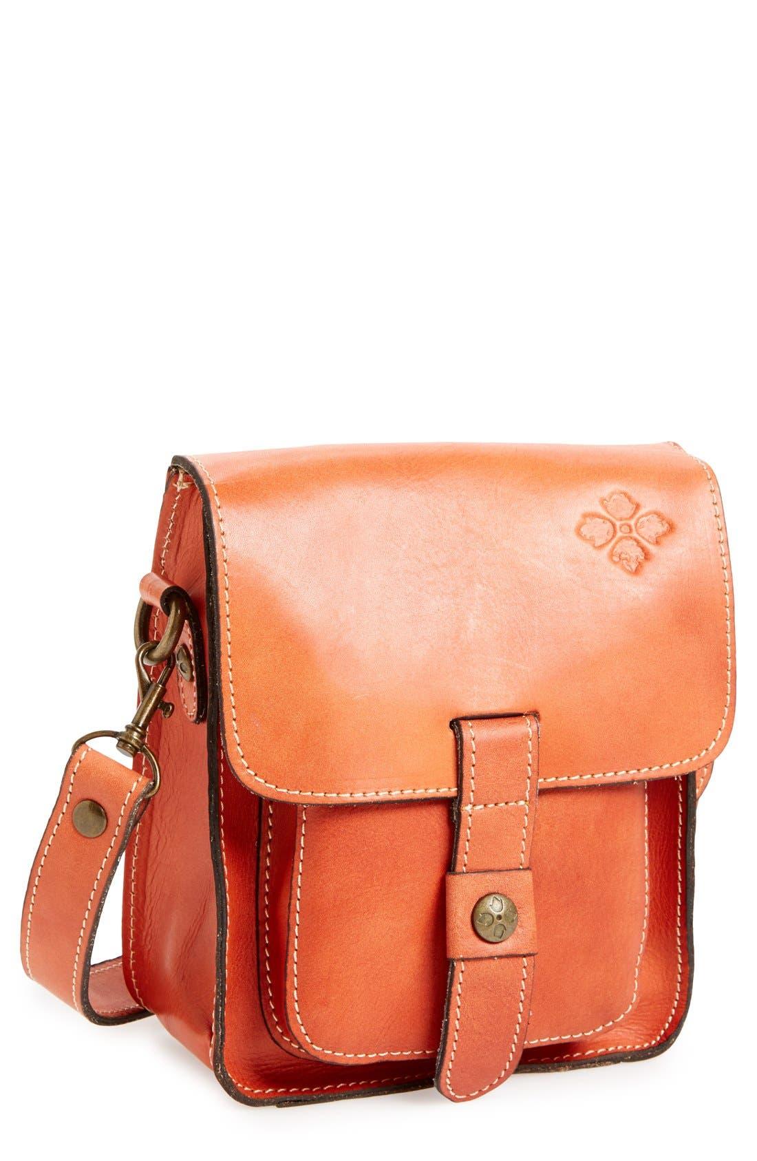 Alternate Image 1 Selected - Patricia Nash 'Lari' Leather Crossbody Bag