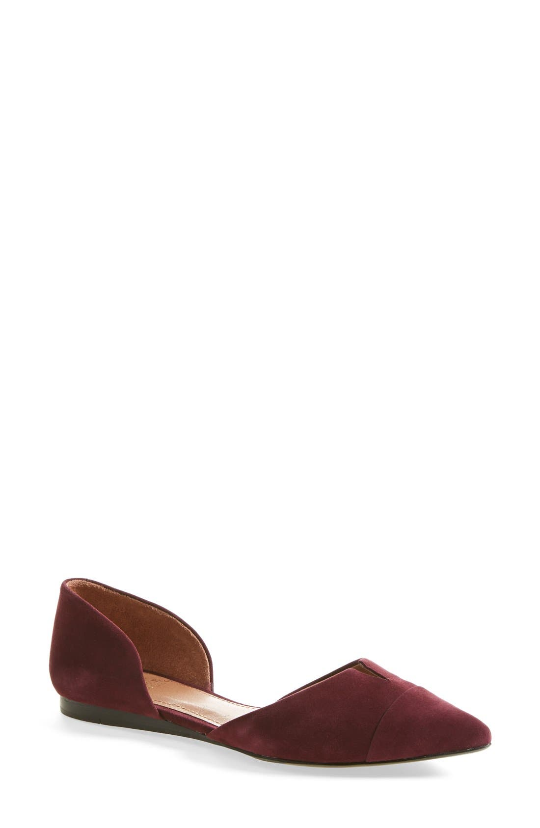 Alternate Image 1 Selected - Vince Camuto 'Halia' d'Orsay Pointy Toe Flat (Women)