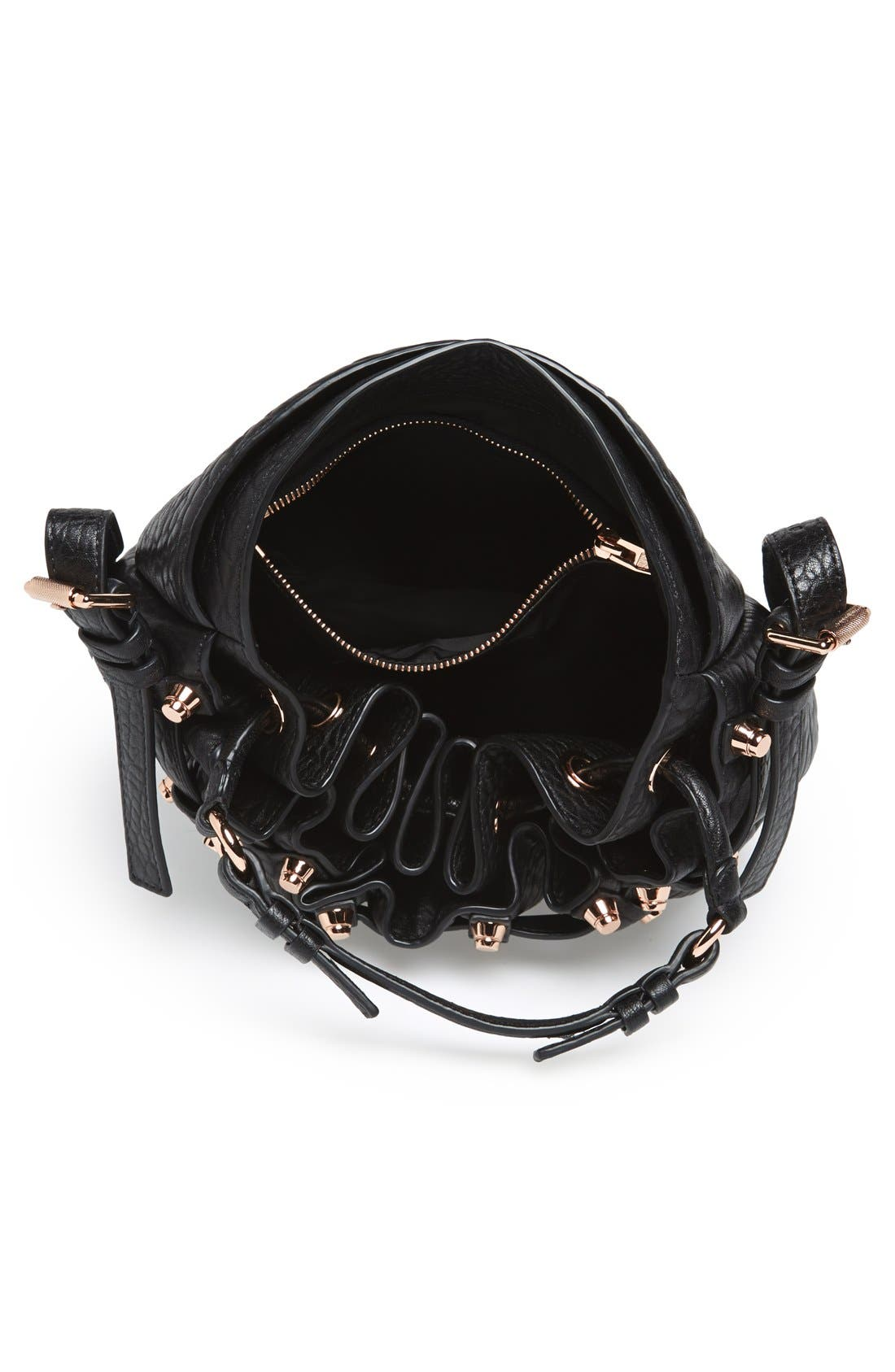 Alternate Image 3  - Alexander Wang 'Diego - Rose Gold' Leather Bucket Bag
