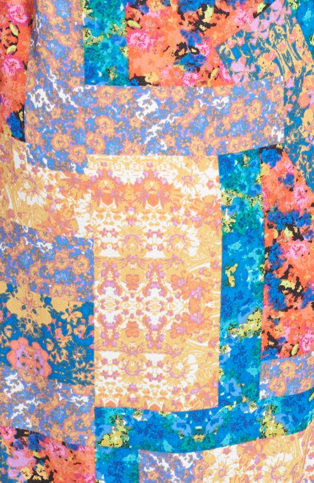 Alternate Image 3  - Eight Sixty Print Smocked Maxi Dress (Plus Size)