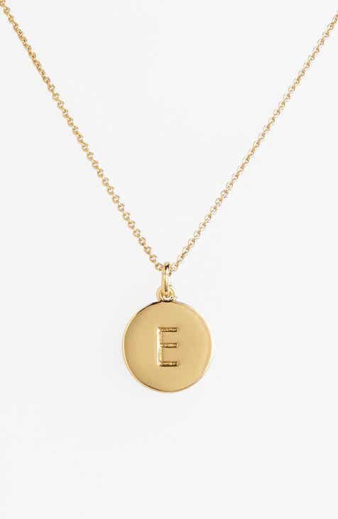 a9b71bc18d6968 kate spade new york one in a million initial pendant necklace