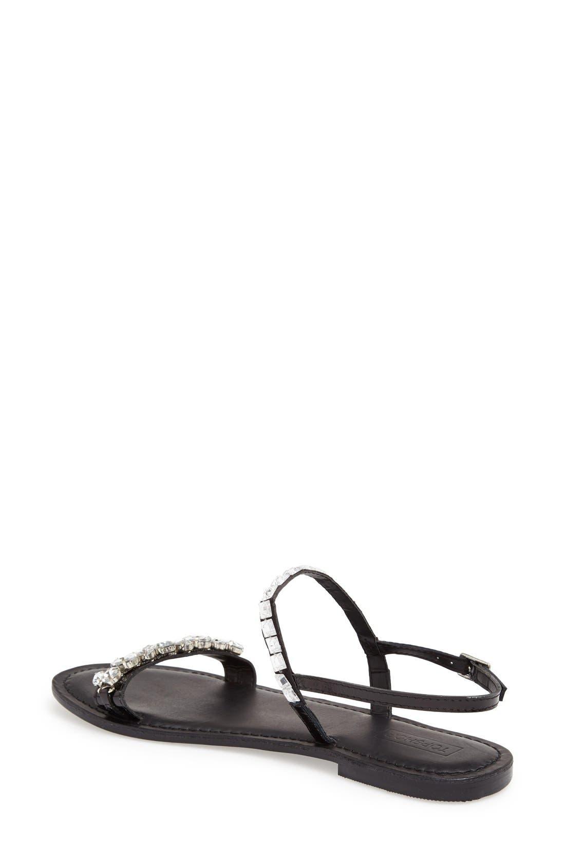 Alternate Image 2  - Topshop 'Harn' Embellished Sandal (Women)