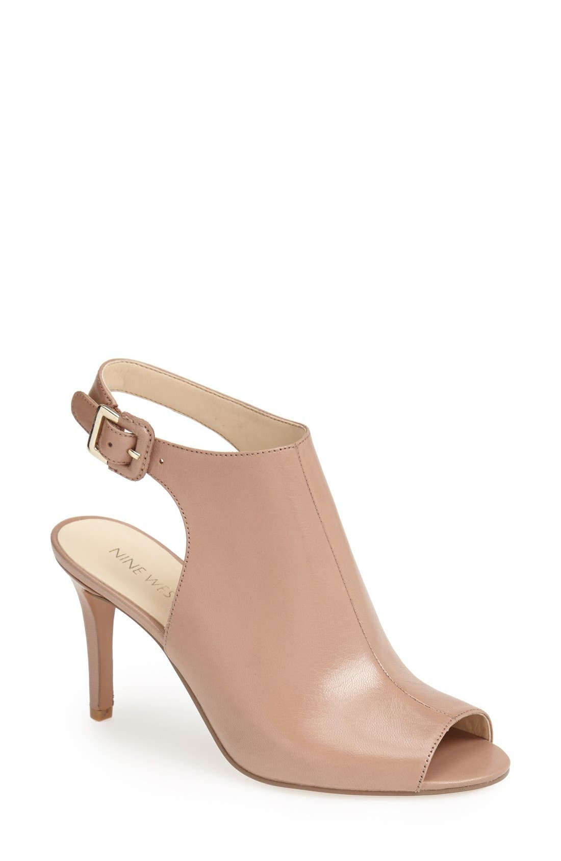 Main Image - Nine West 'Instafun' Leather Sandal (Women)