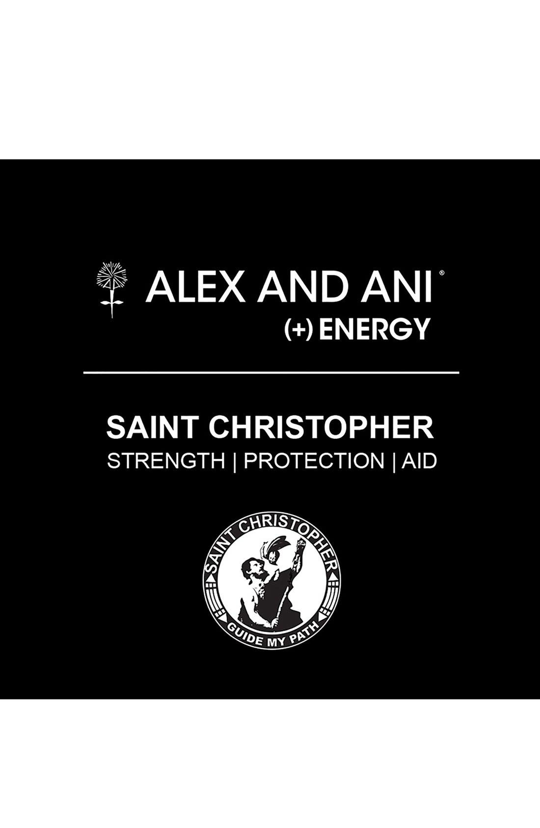 Alternate Image 2  - Alex and Ani 'St. Christopher' Wire Bangle