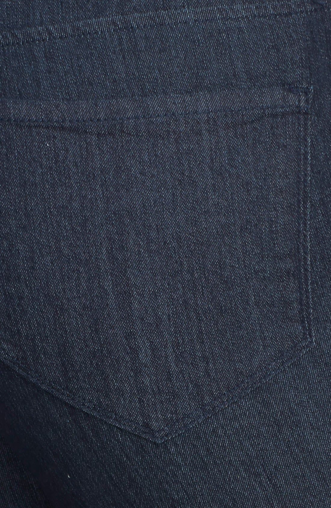 Alternate Image 3  - NYDJ 'Millie' Stretch Ankle Jeans (Dark Enzyme) (Plus Size)