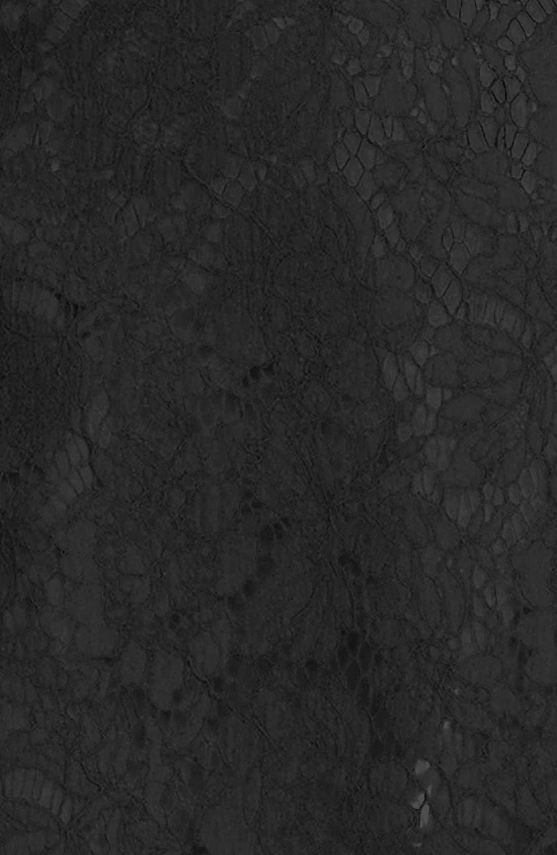 Alternate Image 3  - Valentino Bateau Neck Lace Dress