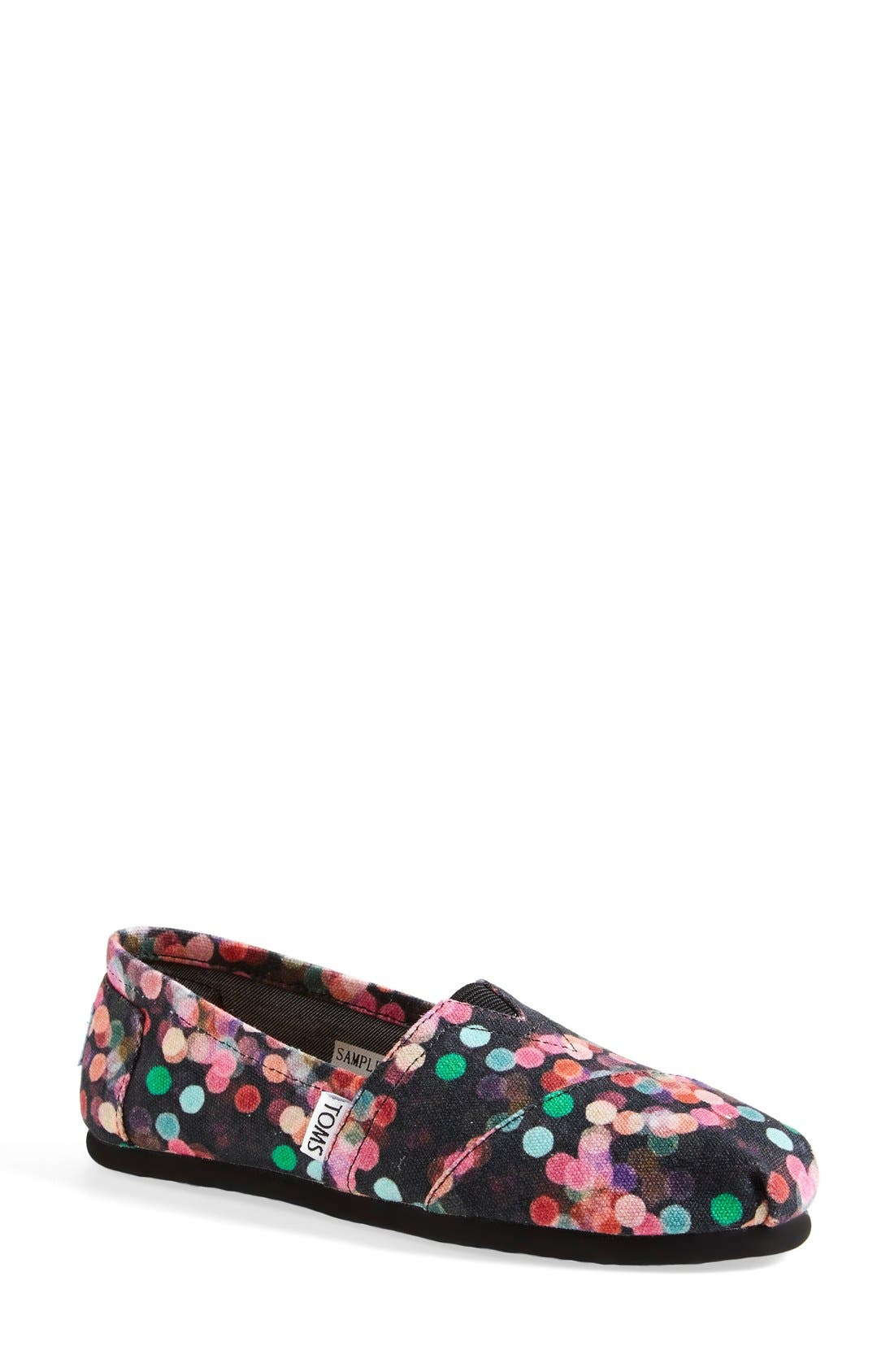Alternate Image 1 Selected - TOMS 'Classic - Night Lights' Slip-On (Nordstrom Exclusive) (Women)
