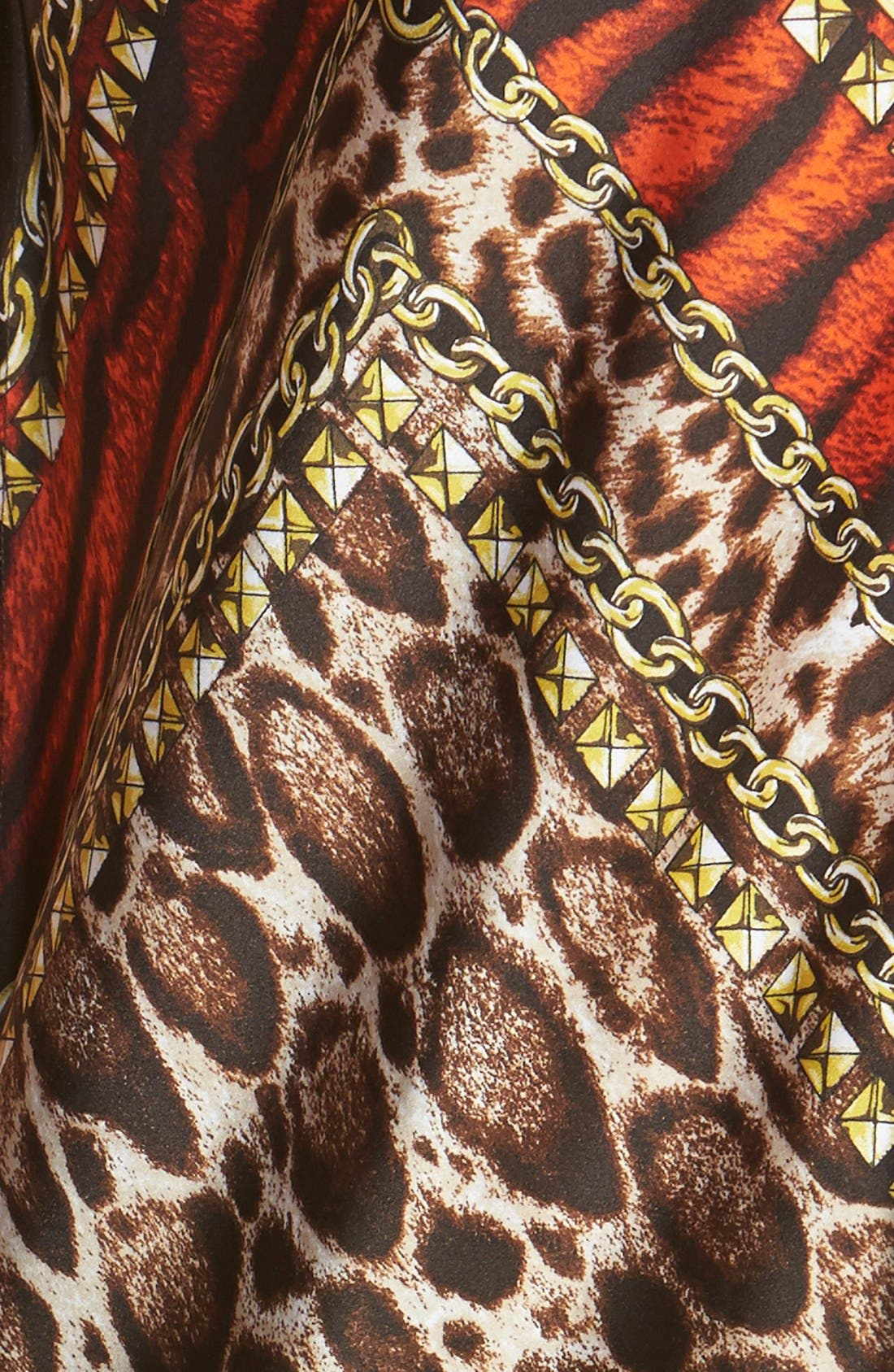 Alternate Image 3  - MICHAEL Michael Kors 'Kasai' Scarf Print V-Neck Maxi Dress