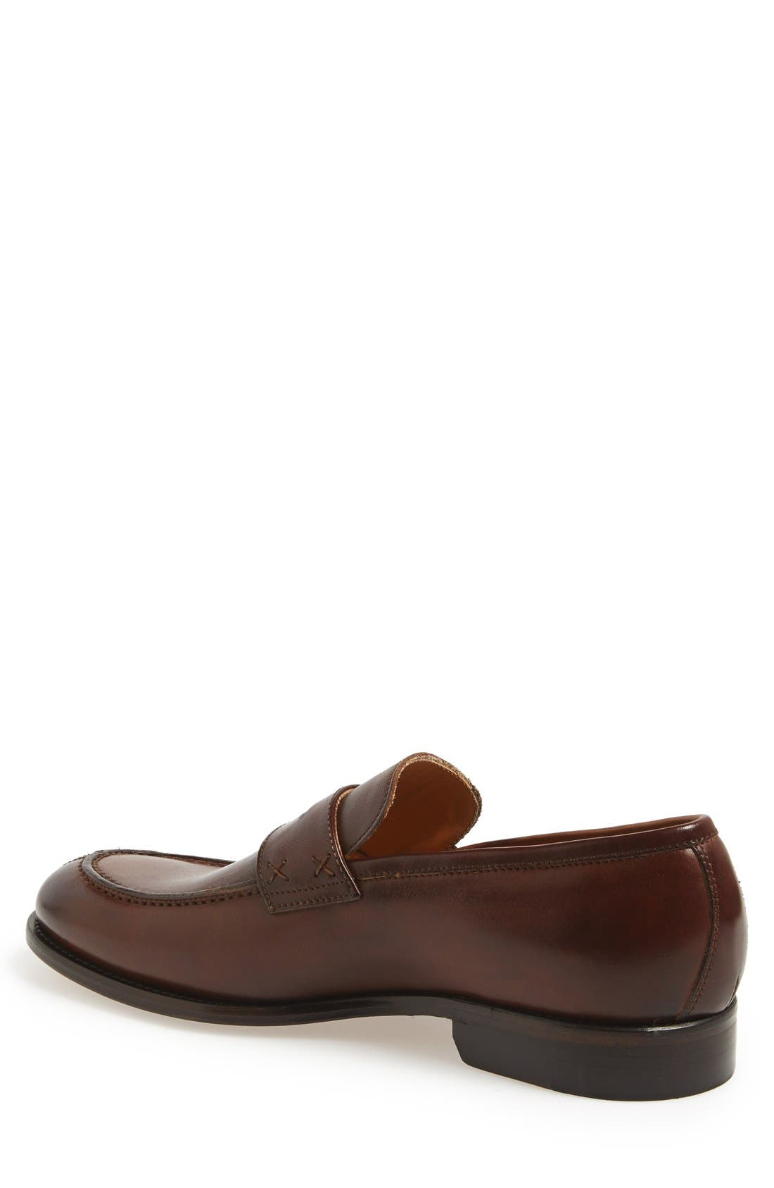 Alternate Image 2  - Dogen 'Vitello Crust' Penny Loafer (Men)