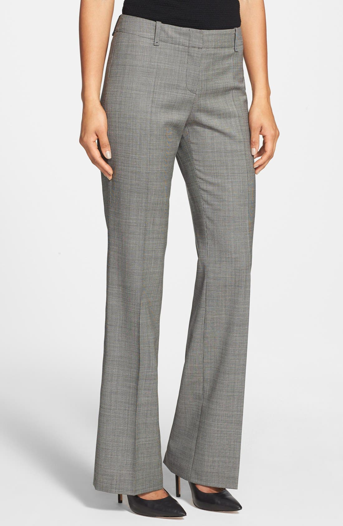 Alternate Image 1 Selected - BOSS 'Tulia' Stretch Wool Trousers