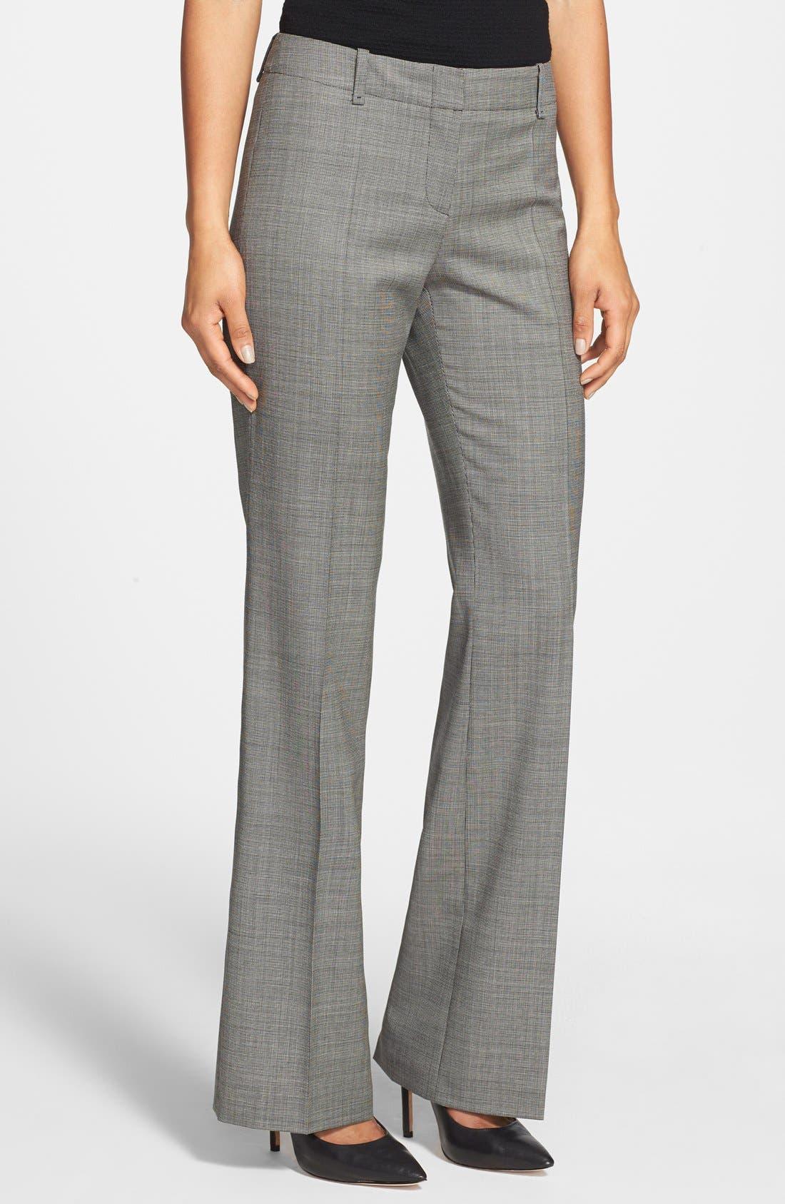 Main Image - BOSS 'Tulia' Stretch Wool Trousers