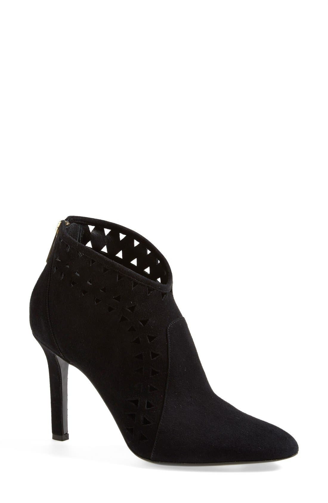 Alternate Image 1 Selected - Tamara Mellon 'French Kiss' Suede Bootie (Women)