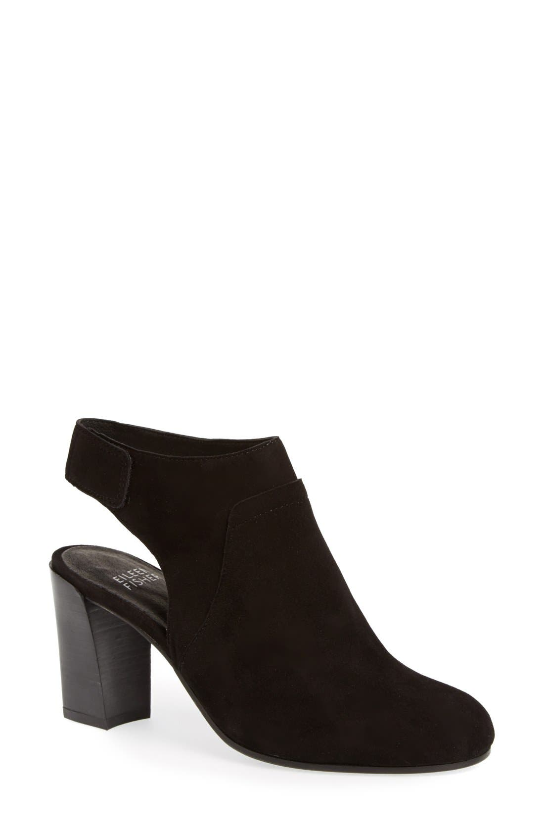 Alternate Image 1 Selected - Eileen Fisher 'Ideal' Cutout Bootie (Women) (Online Only)
