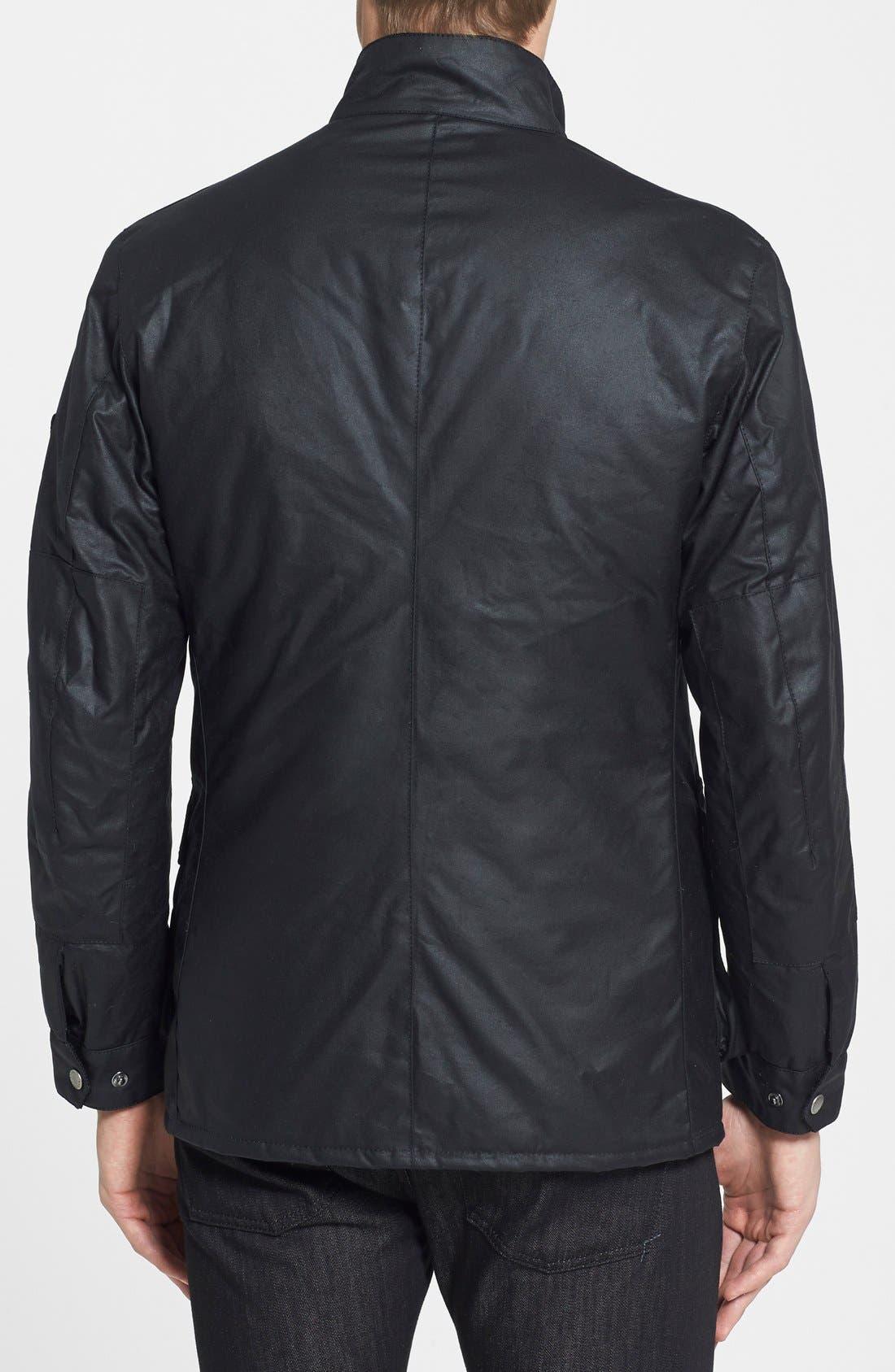 Alternate Image 2  - Barbour 'Duke' Regular Fit Waterproof Waxed Cotton Jacket