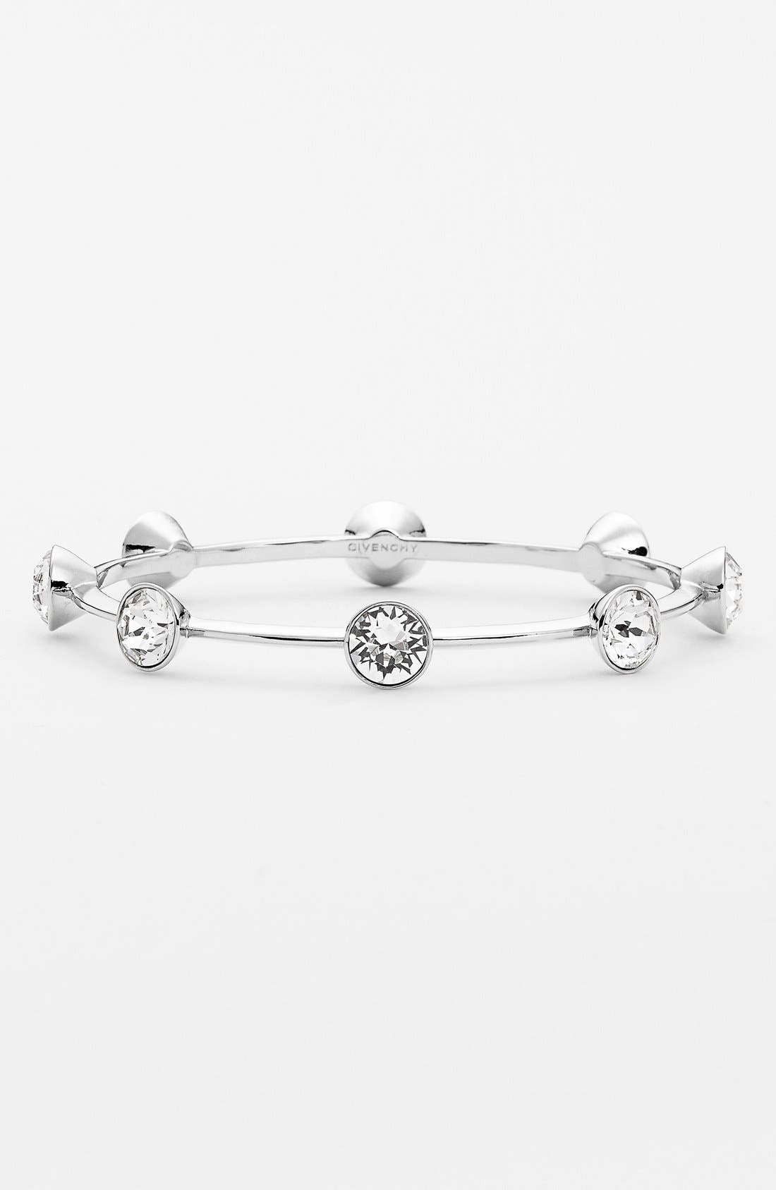 Alternate Image 1 Selected - Givenchy Crystal Skinny Bangle