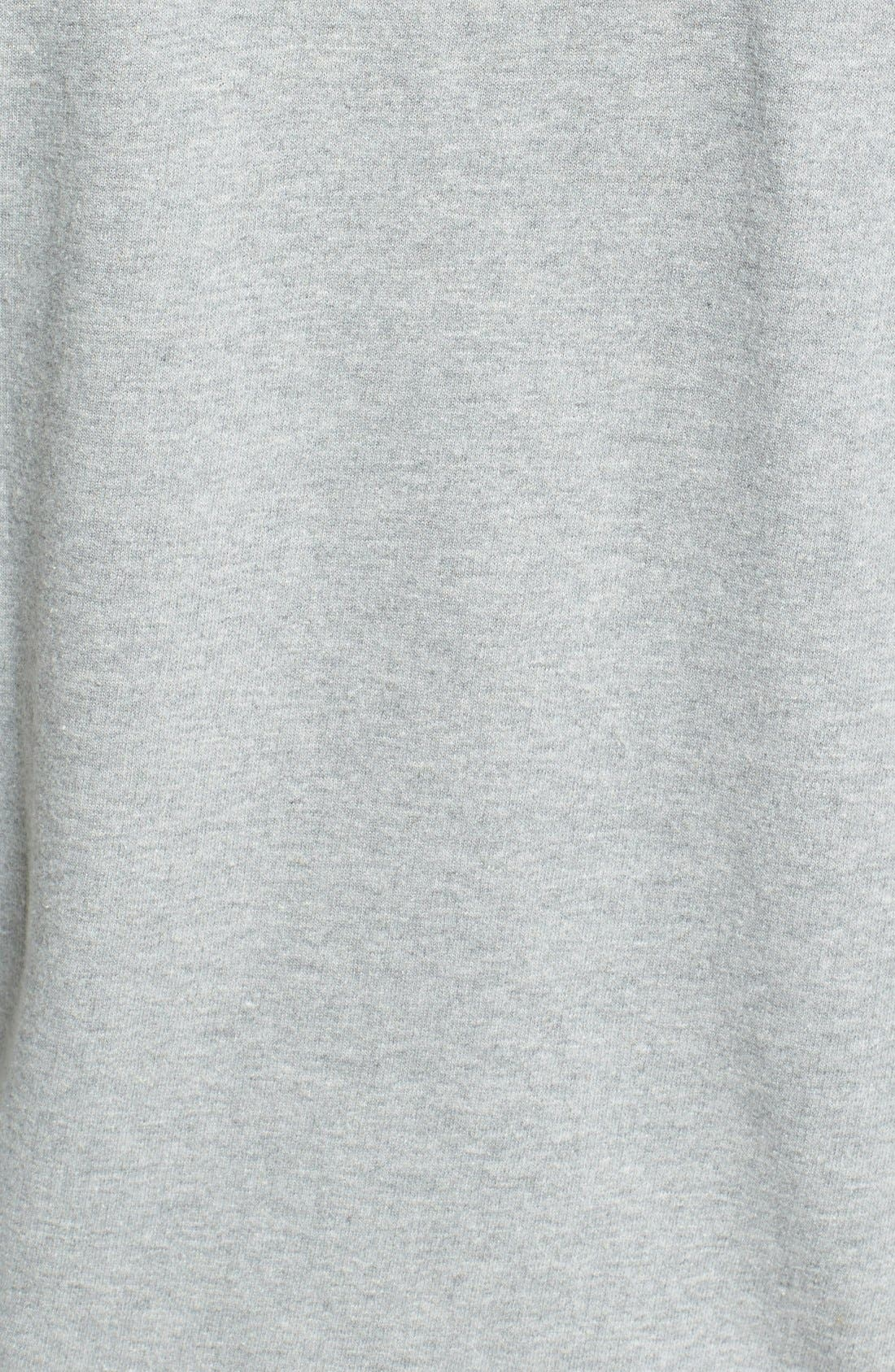 'Dissent' Hoodie,                             Alternate thumbnail 3, color,                             Heather Grey