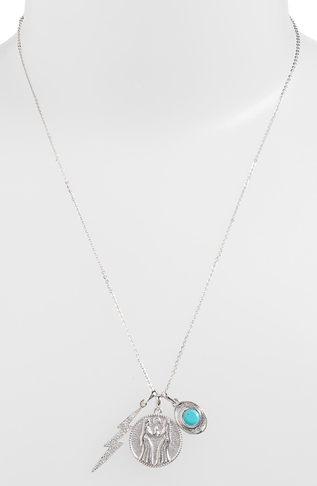 Alternate Image 2  - Melinda Maria 'Goddess of Sisterhood' Boxed Cluster Pendant Necklace
