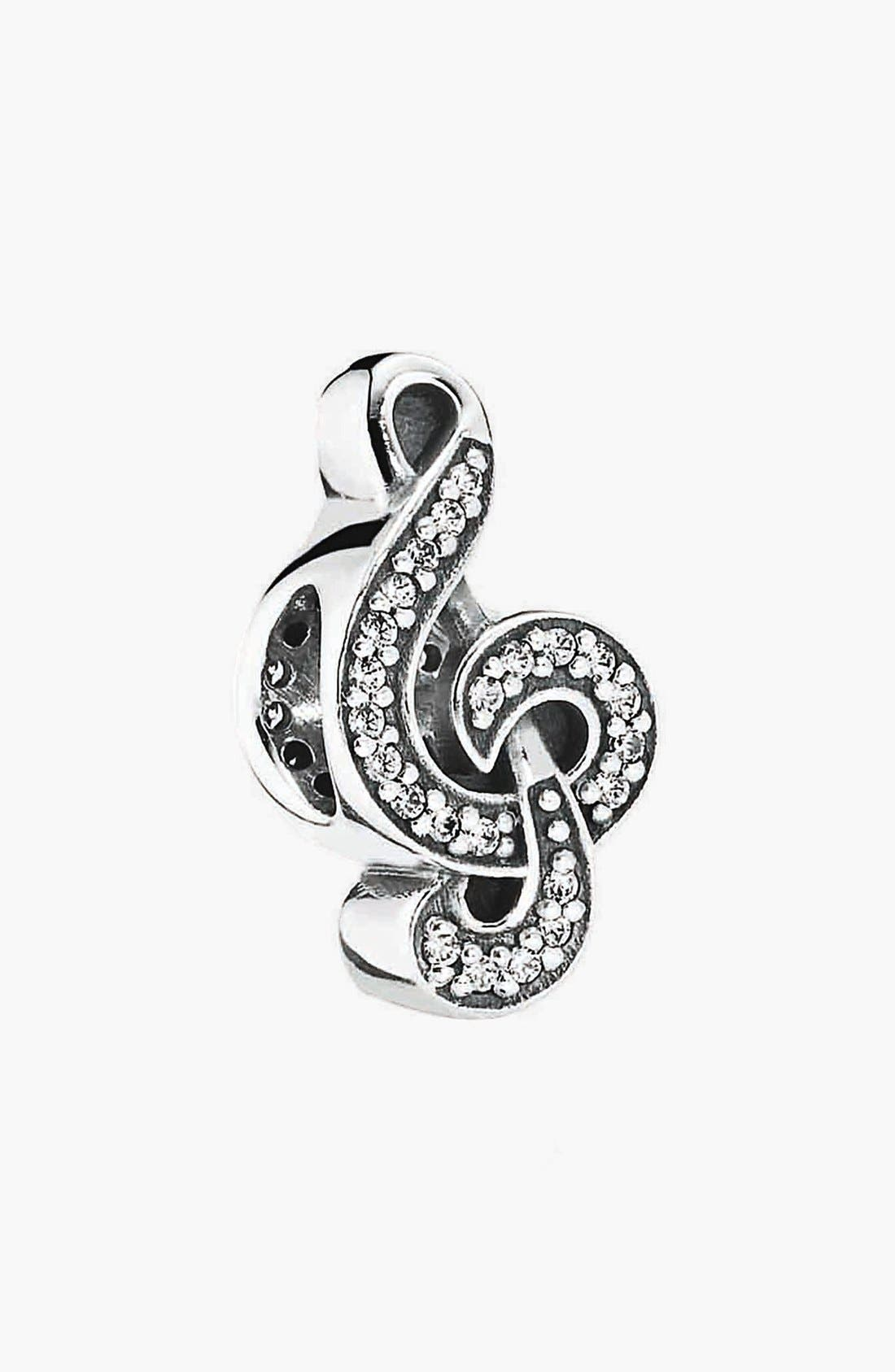 Alternate Image 1 Selected - PANDORA 'Sweet Music Note' Bead Charm