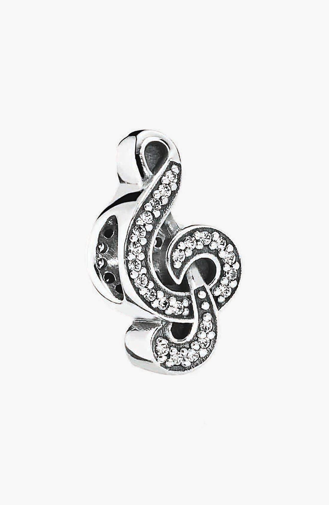 Main Image - PANDORA 'Sweet Music Note' Bead Charm