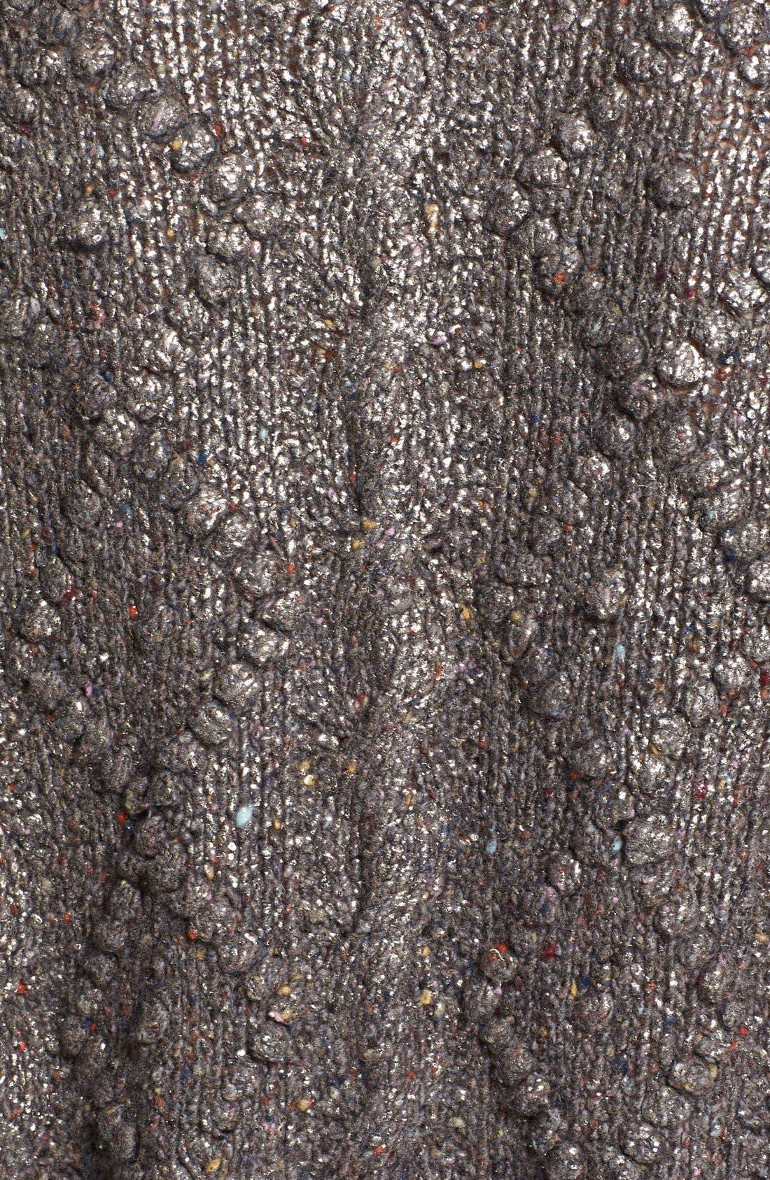 Alternate Image 3  - Tory Burch 'Shawn' Metallic Wool Blend Tunic