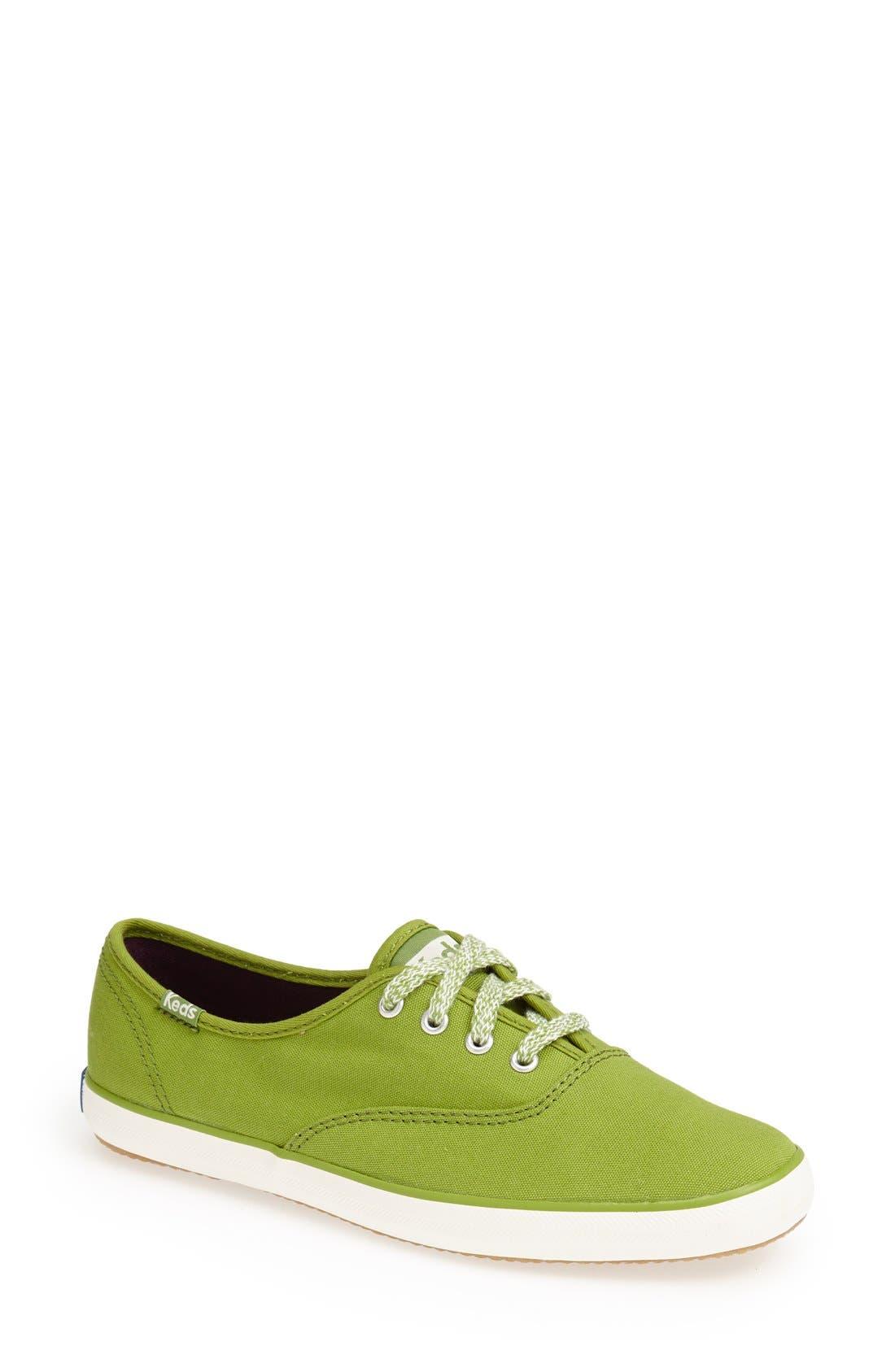 Alternate Image 1 Selected - Keds® 'Champion' Canvas Sneaker (Women)