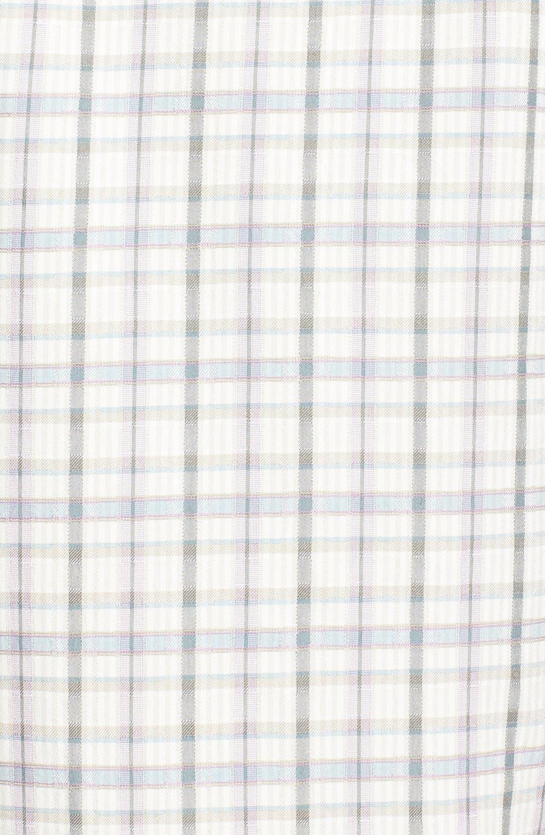 Alternate Image 3  - Tommy Bahama 'Jammin' Plaid' Original Fit Plaid Silk Campshirt
