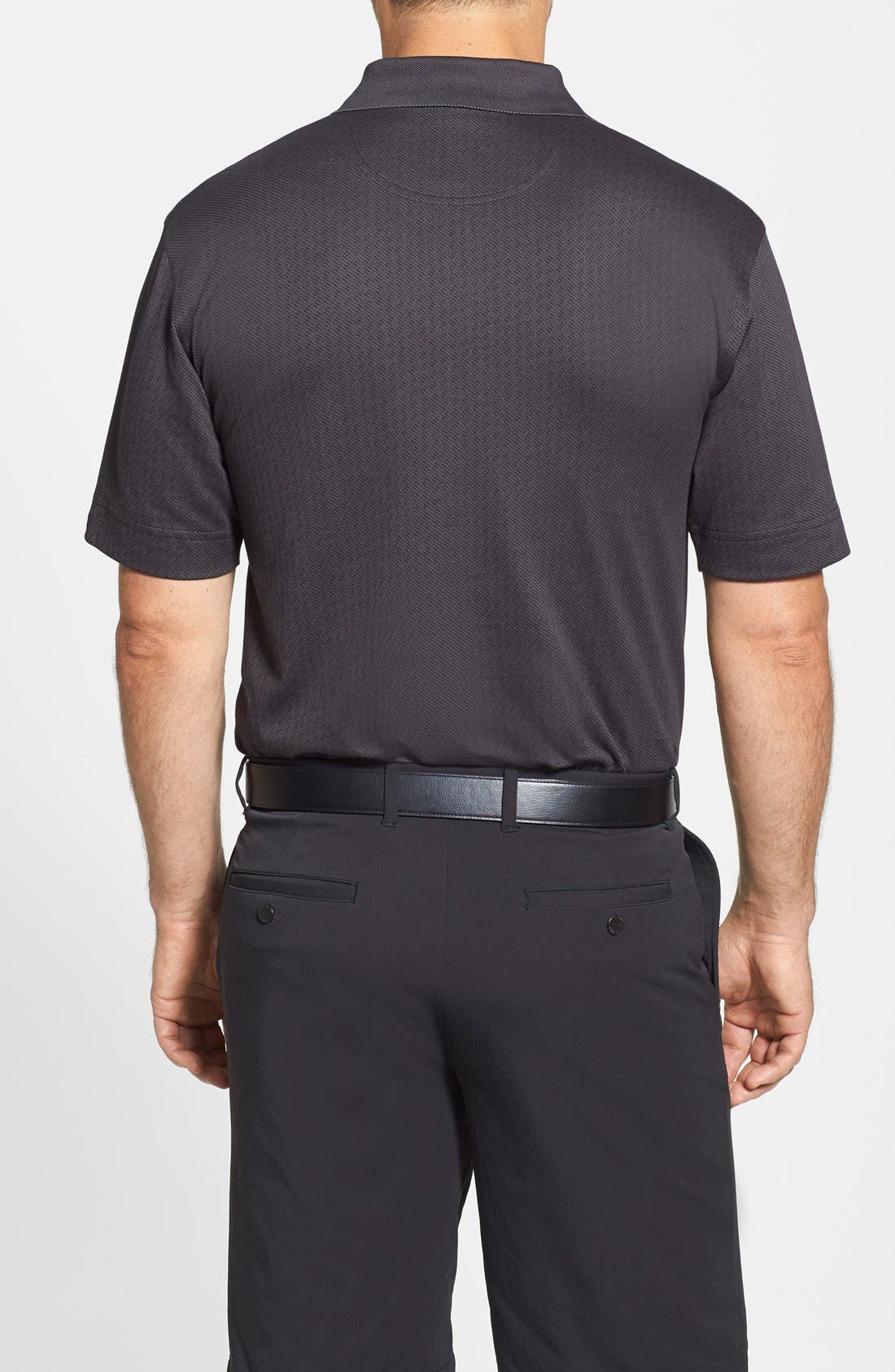 Alternate Image 3  - Cutter & Buck 'Luxe - Faceted' DryTec Golf Polo