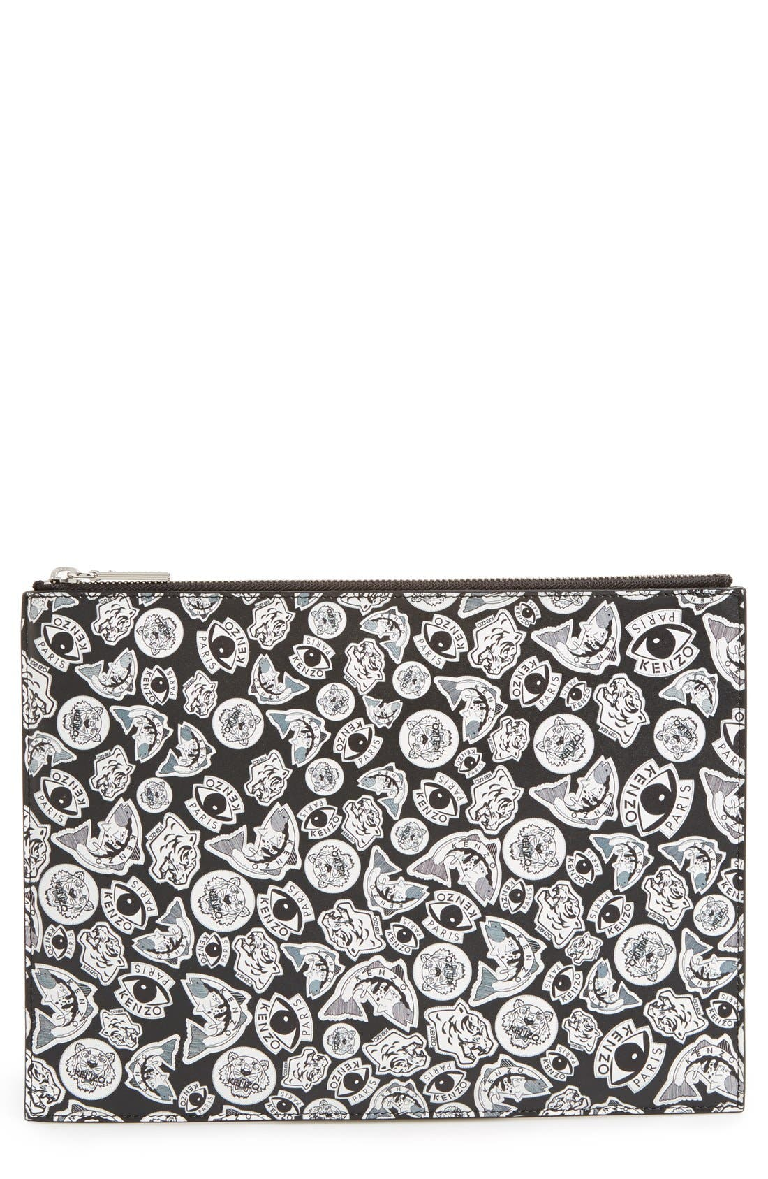 Alternate Image 1 Selected - KENZO Logo Clutch