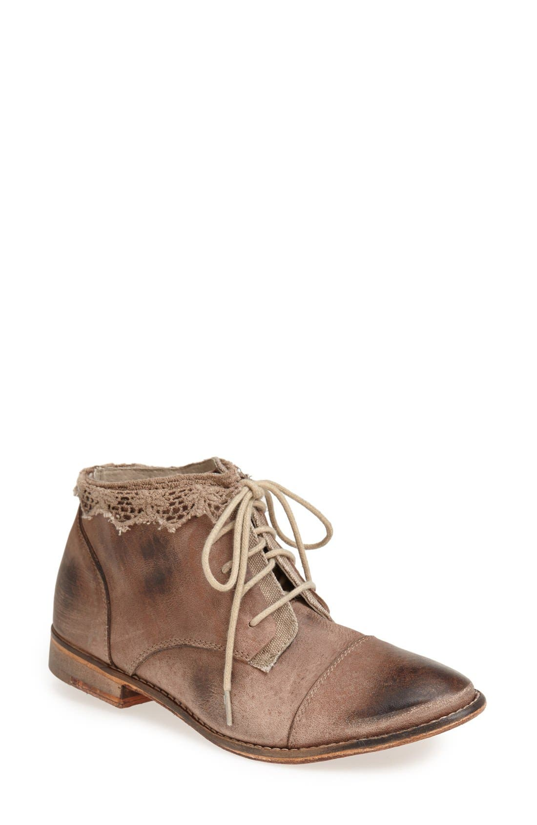Main Image - Free People 'Vaughan' Crochet Boot (Women)