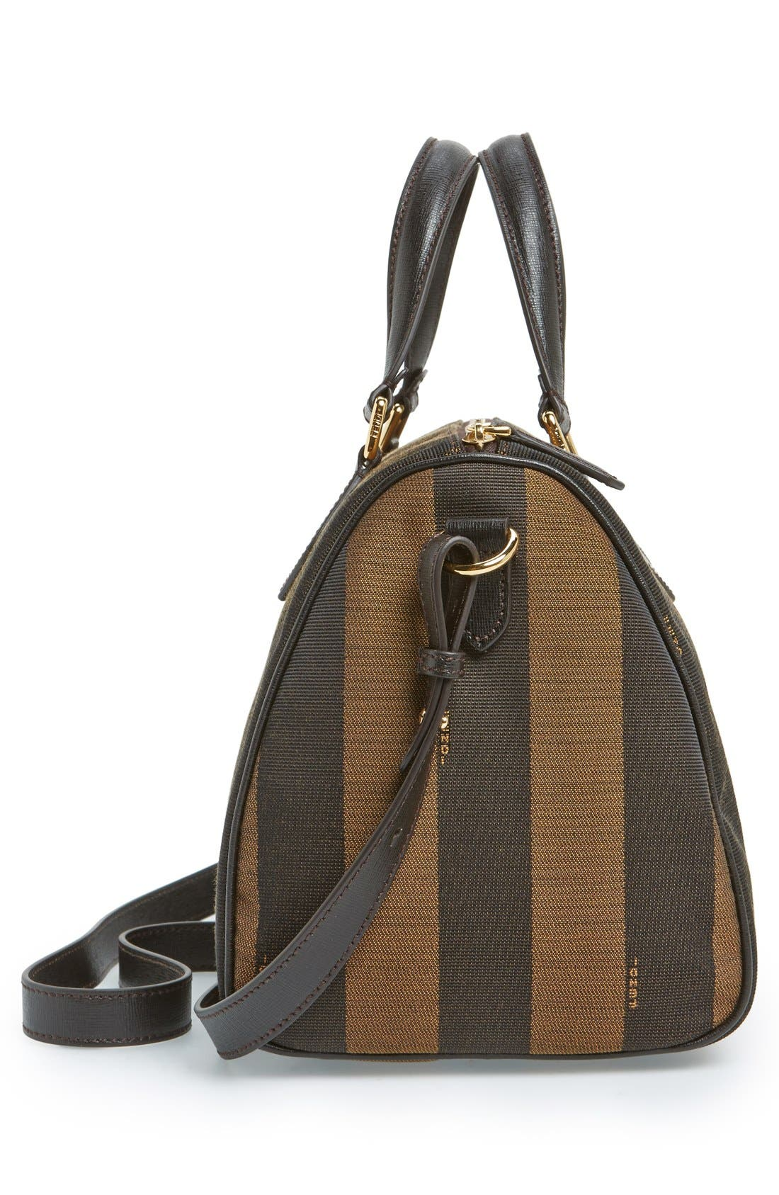 Alternate Image 5  - Fendi 'Small Pequin' Logo Jacquard Shoulder Bag