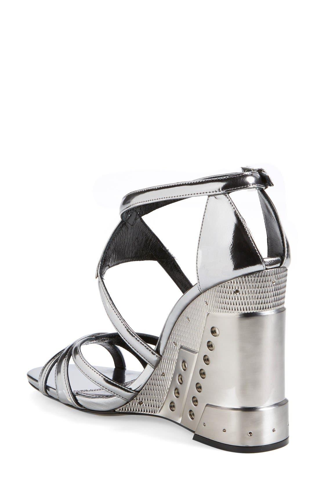 Alternate Image 2  - Prada Leather Wedge (Women)
