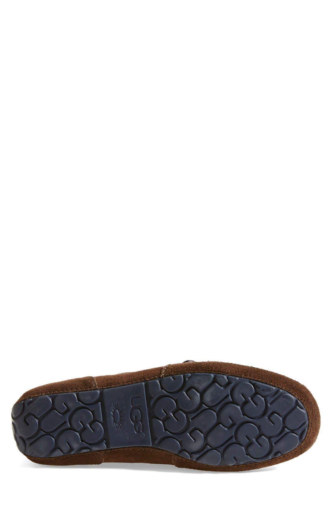 Alternate Image 4  - UGG® 'Chester' Driving Loafer (Men)