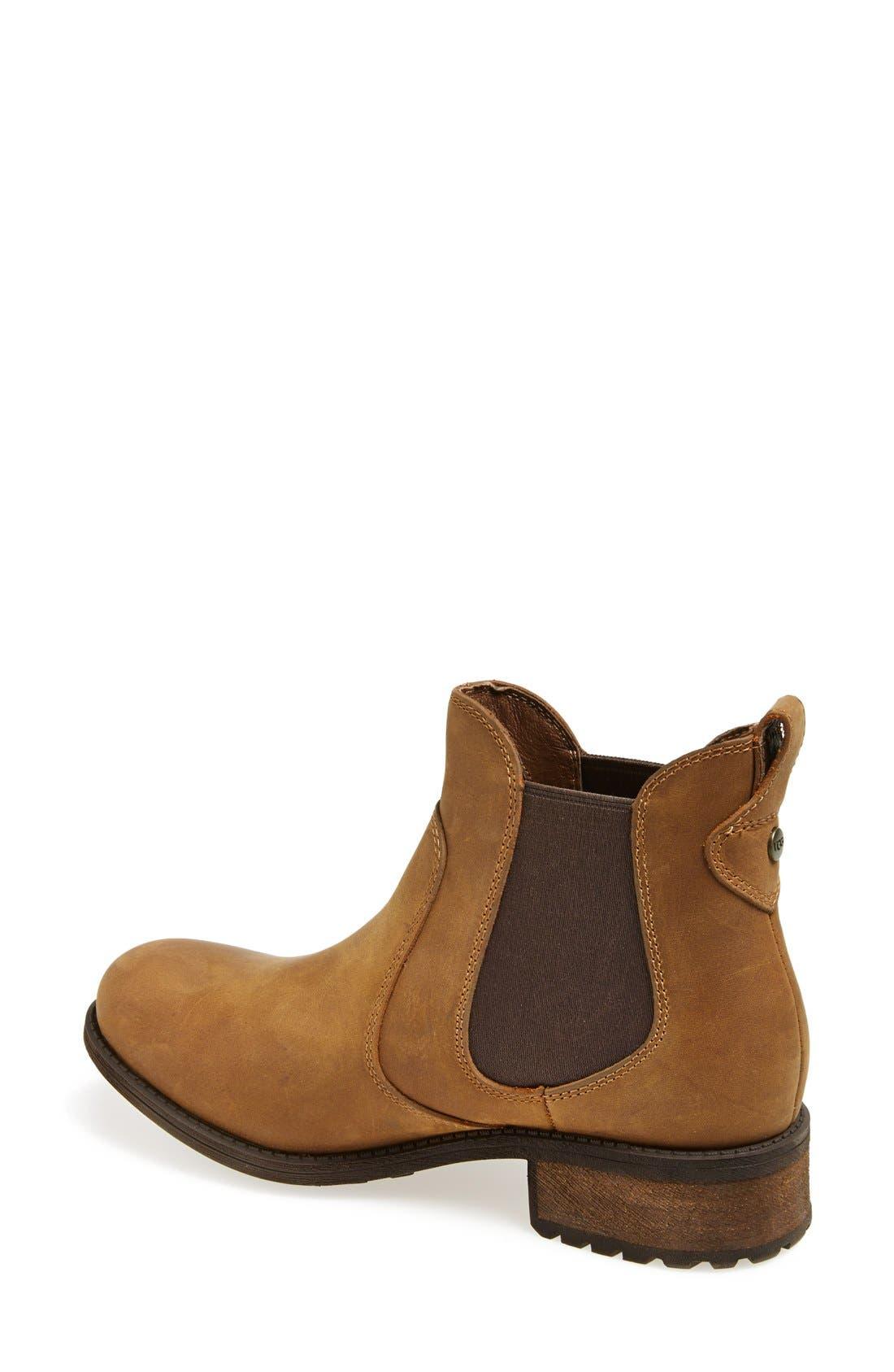 Alternate Image 2  - UGG® Australia 'Bonham' Water Resistant Chelsea Boot (Women)