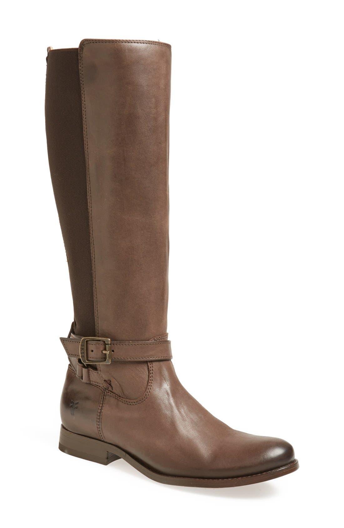 Alternate Image 1 Selected - Frye 'Melissa' Gore Zip Boot