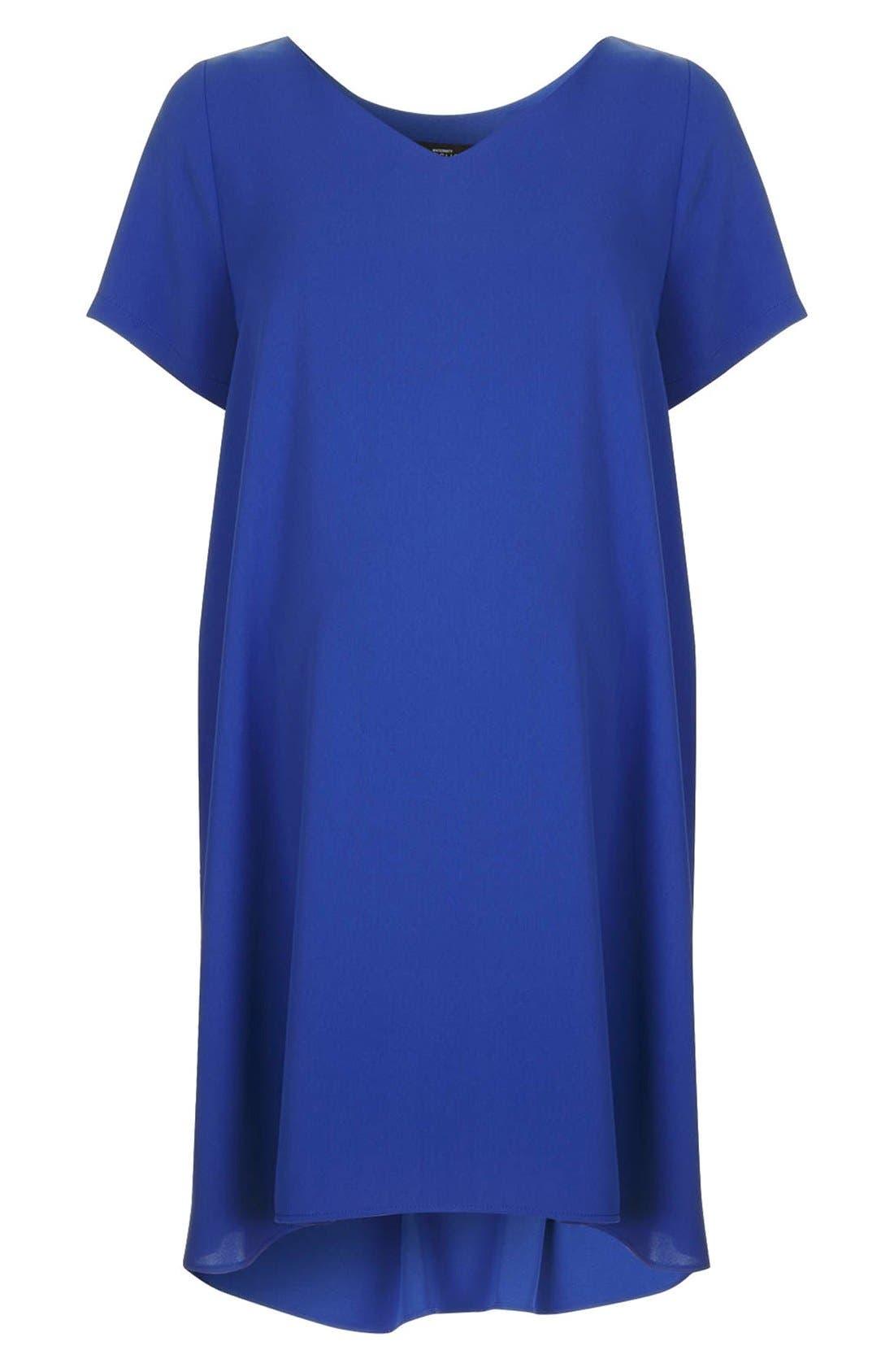 Alternate Image 1 Selected - Topshop V-Neck Maternity Swing Dress
