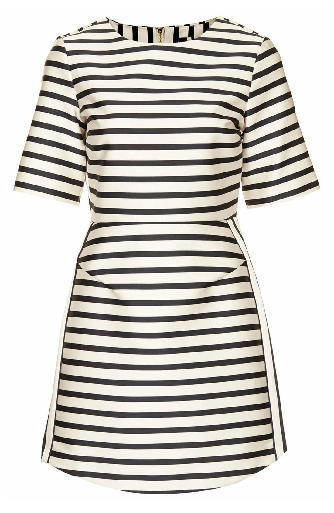 Alternate Image 3  - Topshop Stripe A-Line Dress
