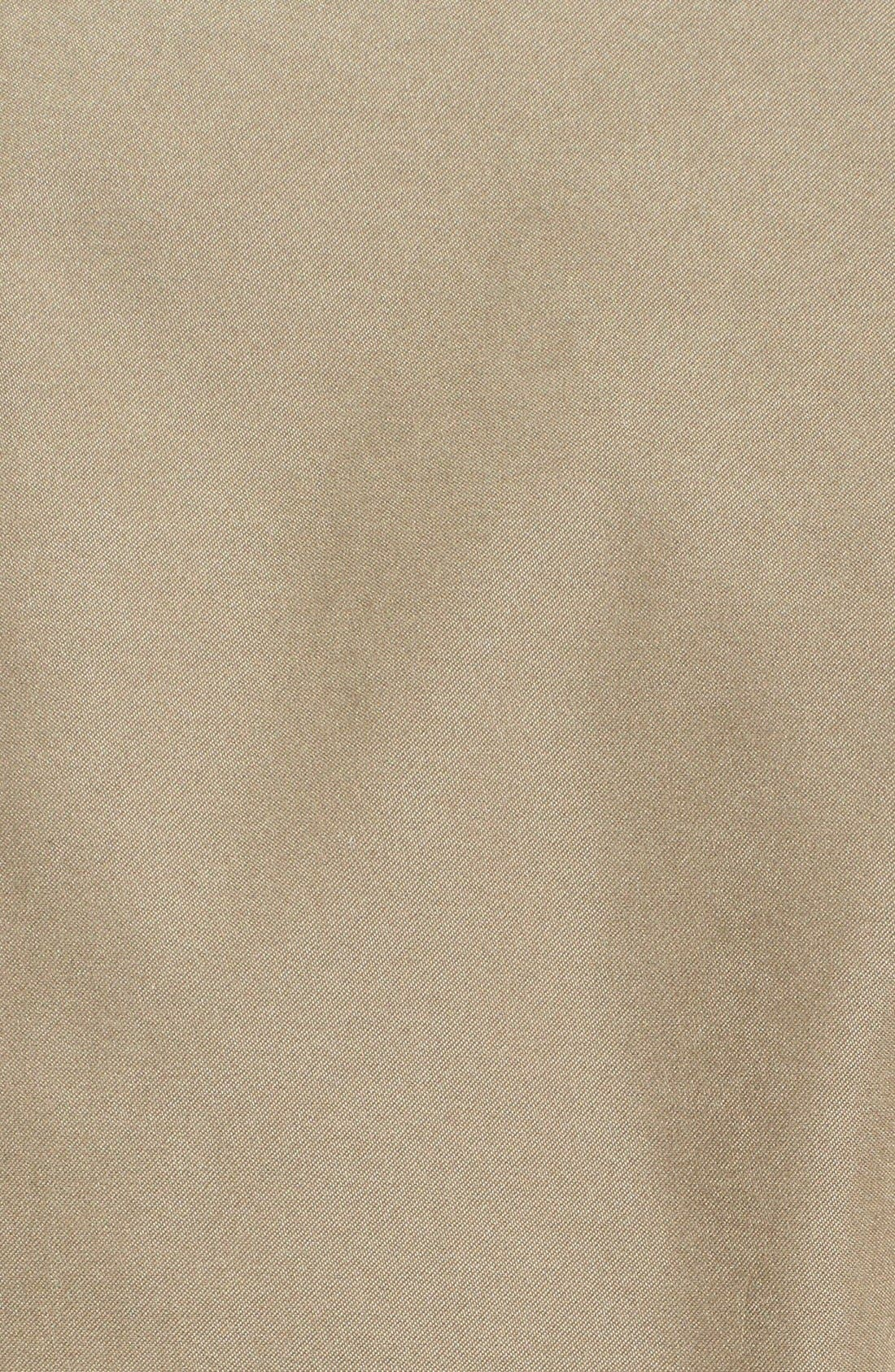 'Microseta' Lightweight Golf Jacket,                             Alternate thumbnail 3, color,                             Khaki