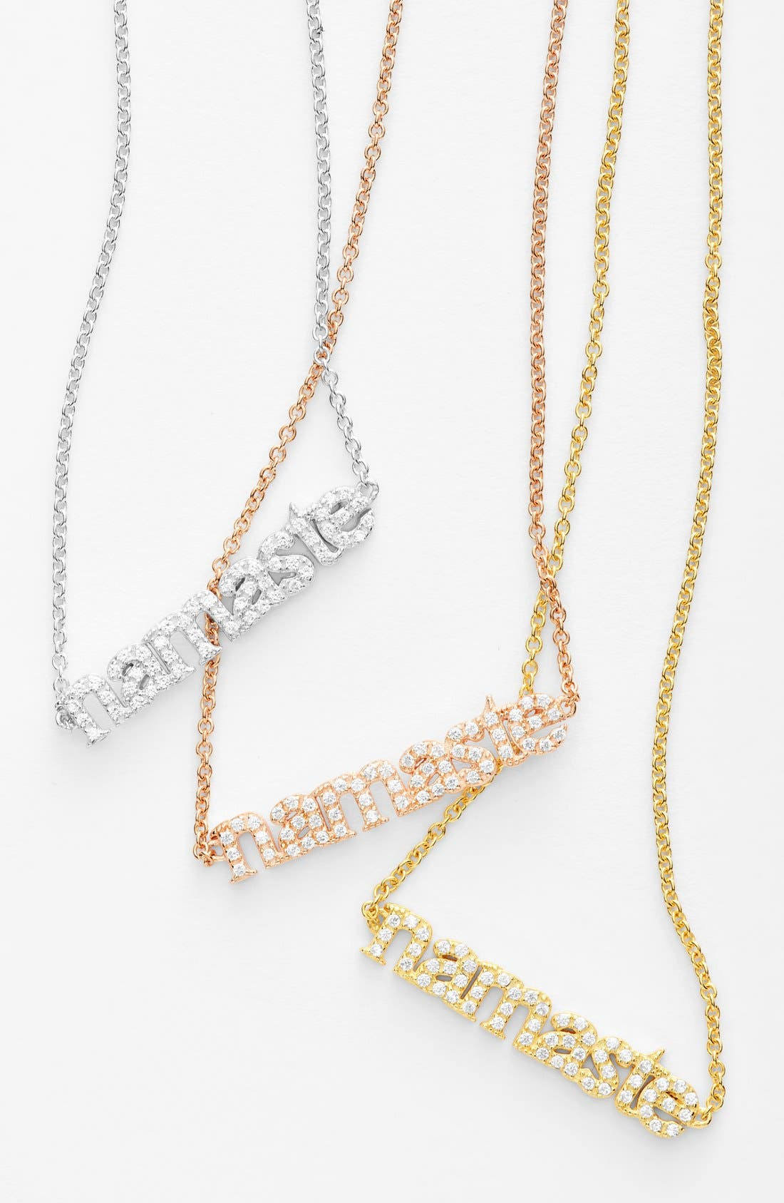 Alternate Image 3  - Sugar Bean Jewelry 'Namaste' Pendant Necklace