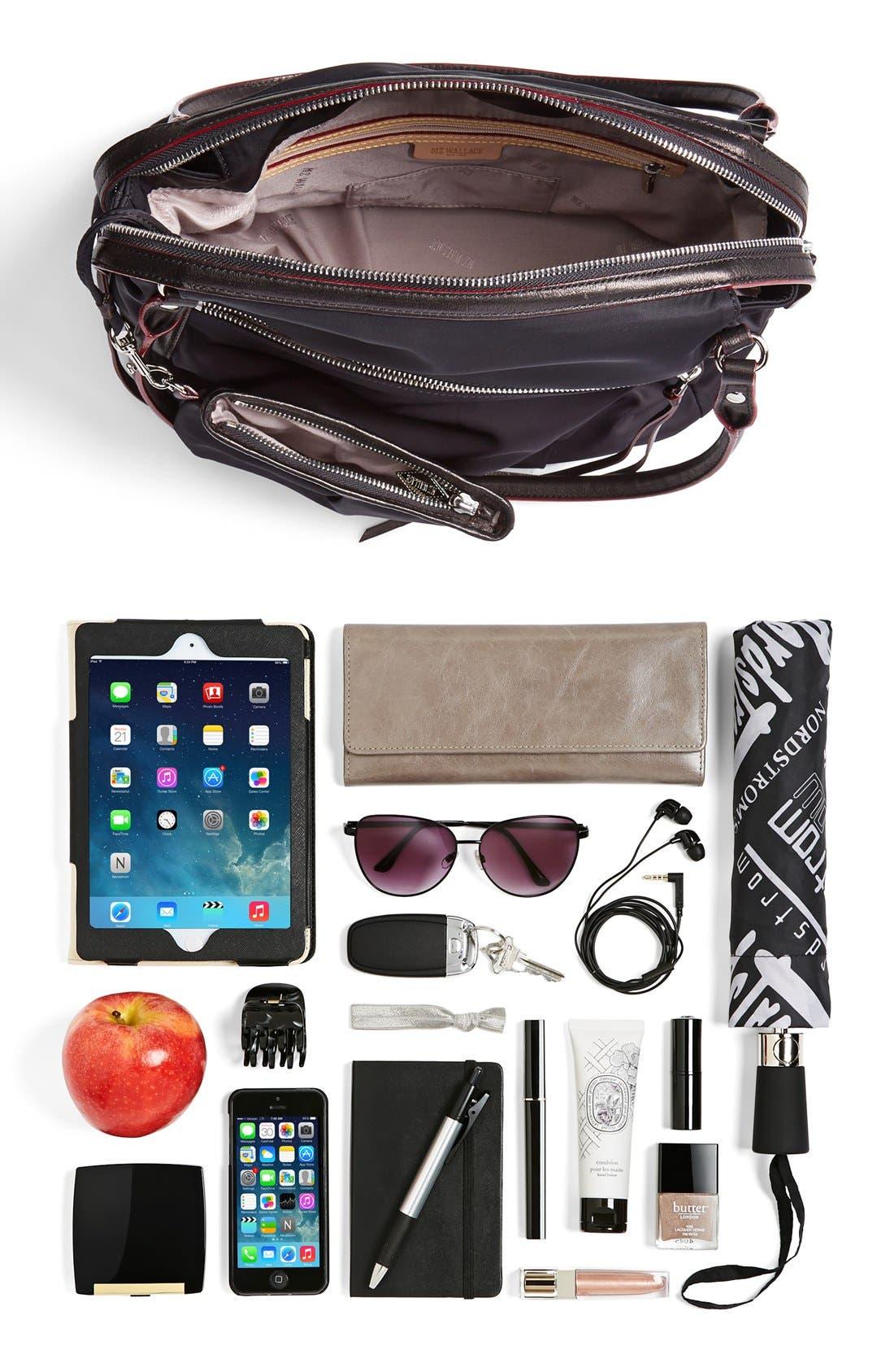 Alternate Image 5  - MZ Wallace 'Moto Georgie' Bedford Nylon Shoulder Bag