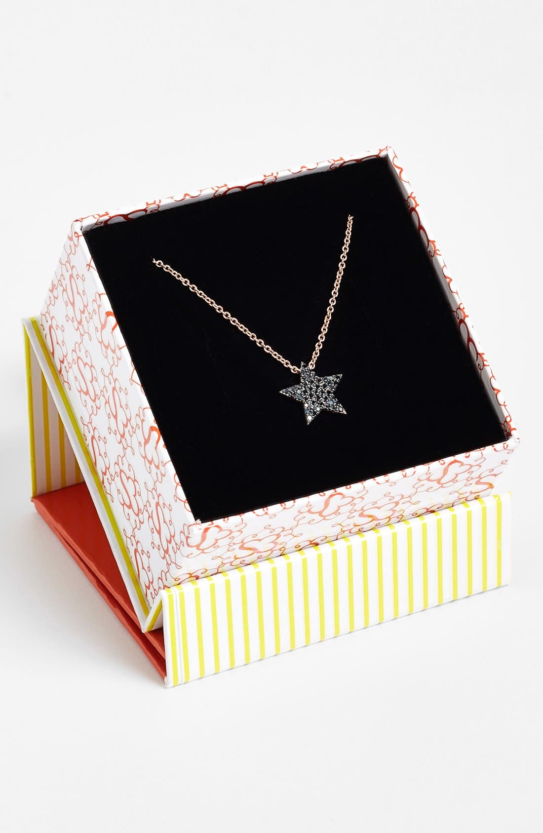 Alternate Image 2  - Sugar Bean Jewelry Star Pendant Necklace