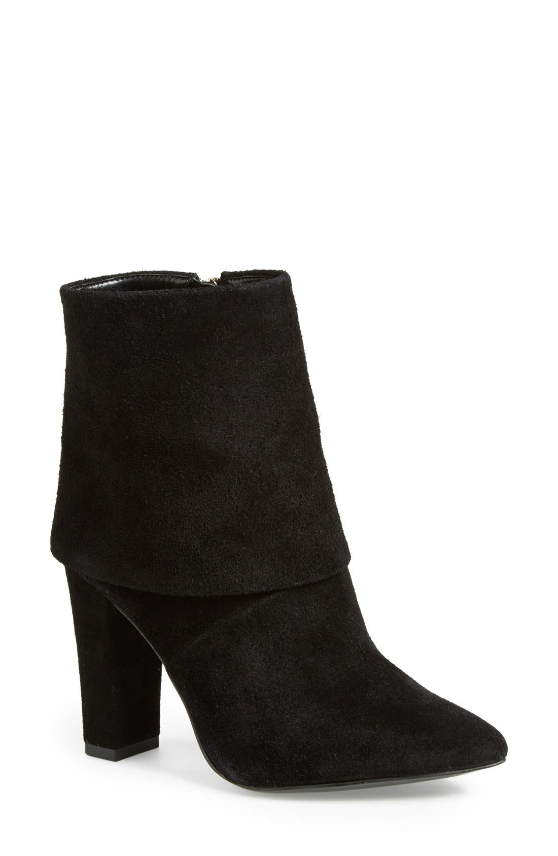 Alternate Image 1 Selected - Vince Camuto 'Amya' Suede Bootie (Women)