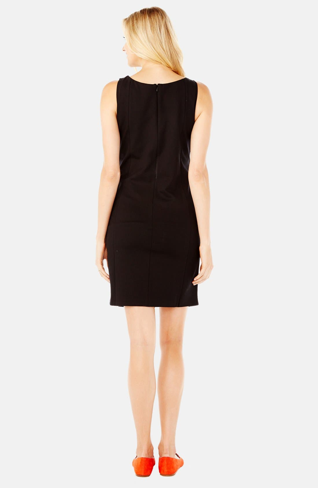 Alternate Image 2  - Rosie Pope 'Claire' Ponte Knit Maternity Dress