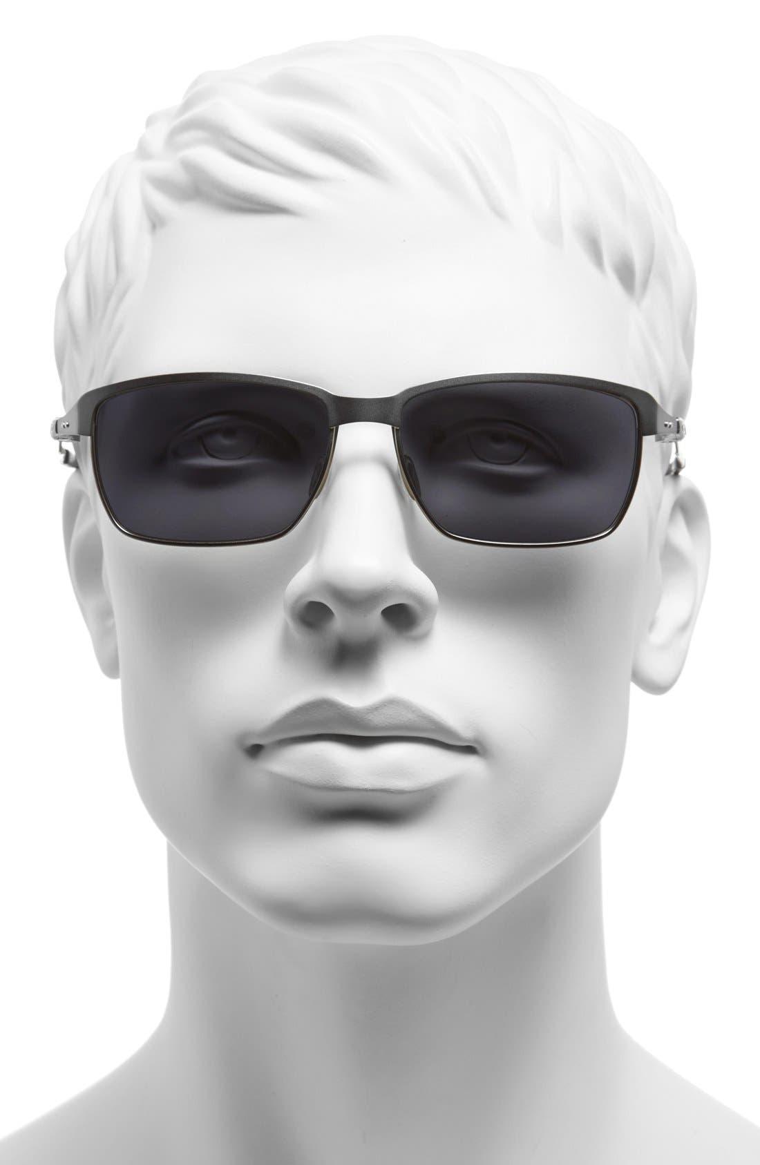 Alternate Image 2  - Oakley 'Tinfoil' 58mm Sunglasses