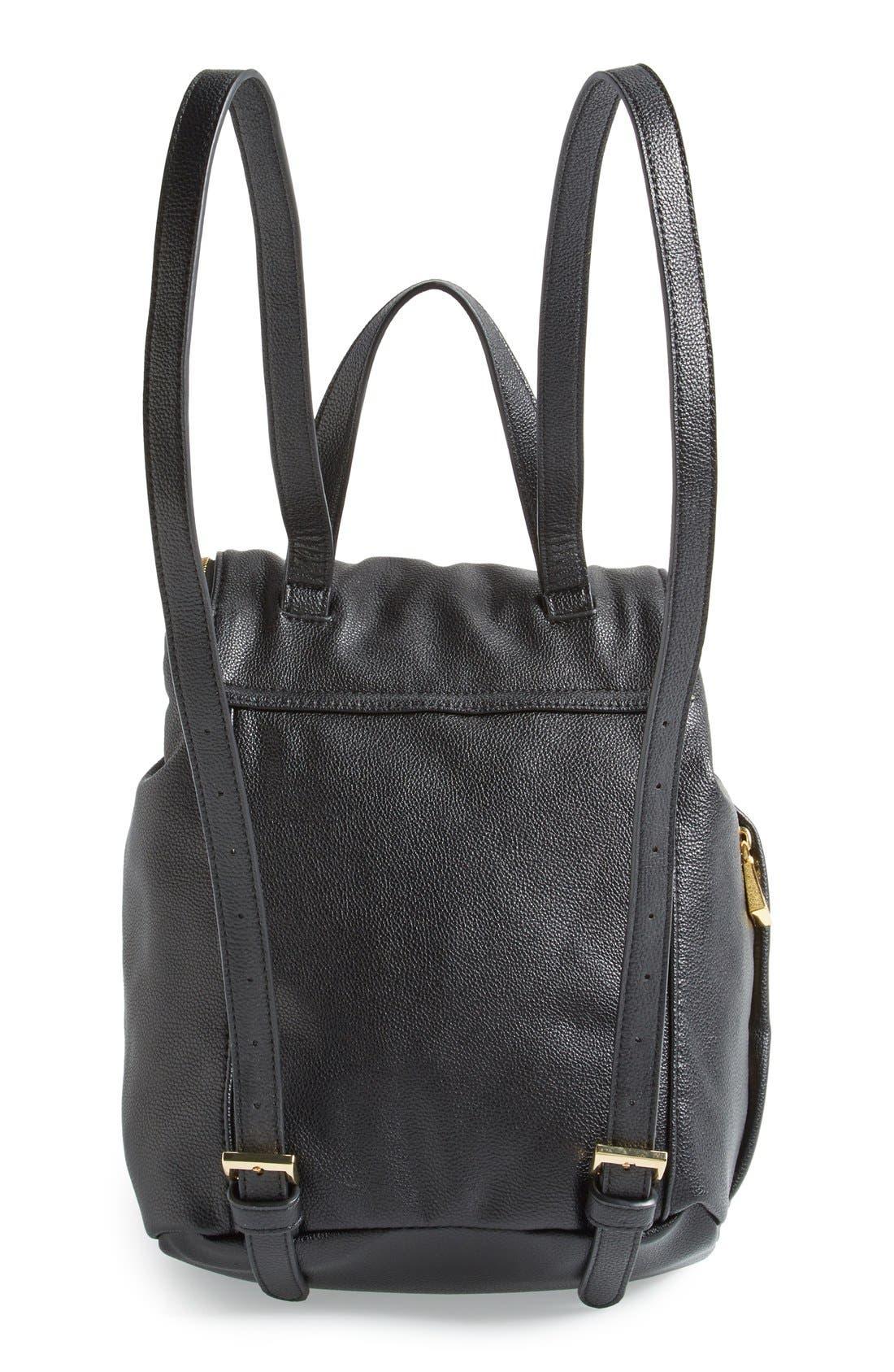 Alternate Image 4  - Snob Essentials Leopard Print Backpack