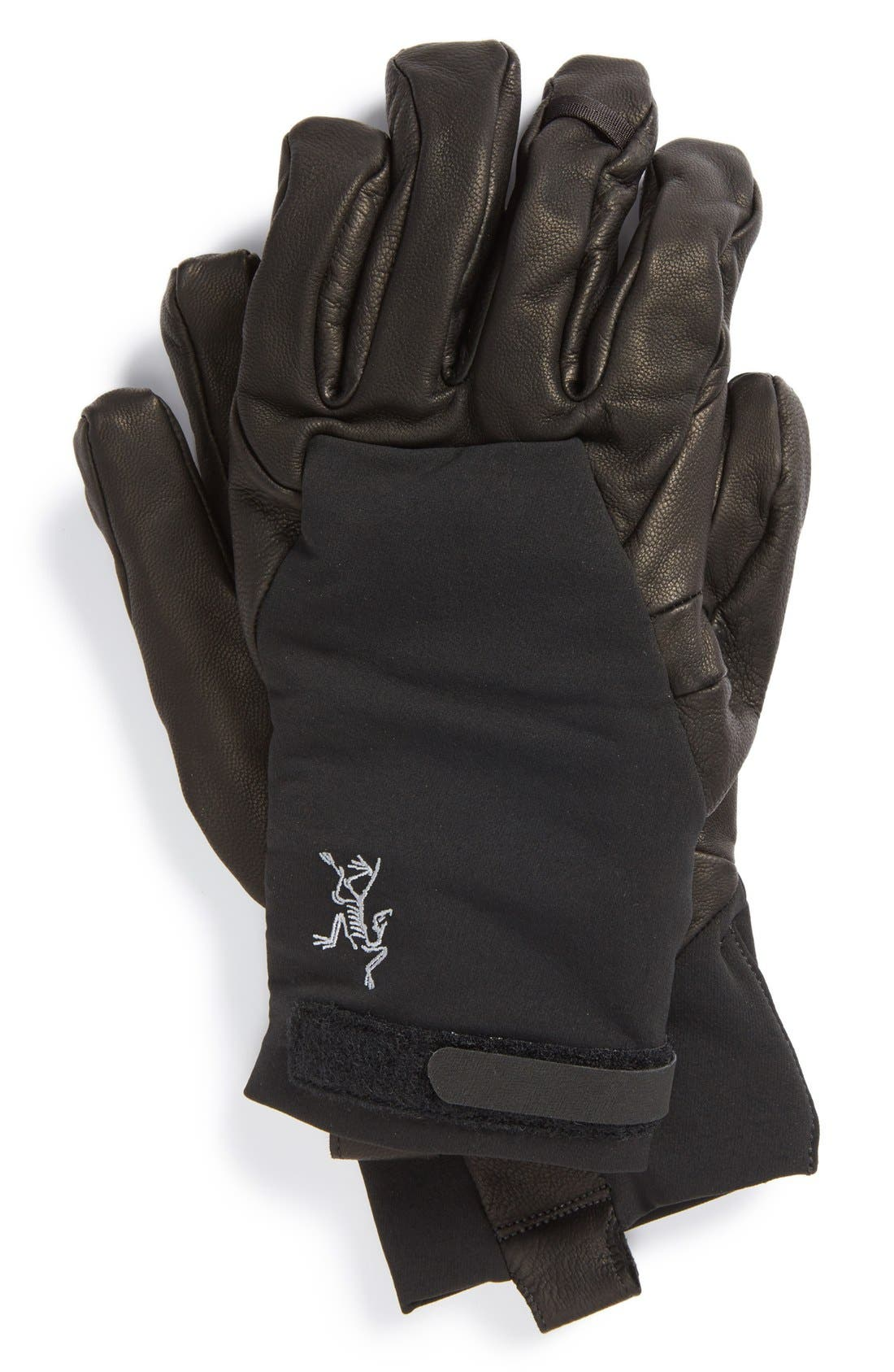 Alternate Image 1 Selected - Arc'teryx 'Cam SV' Soft Shell Gloves