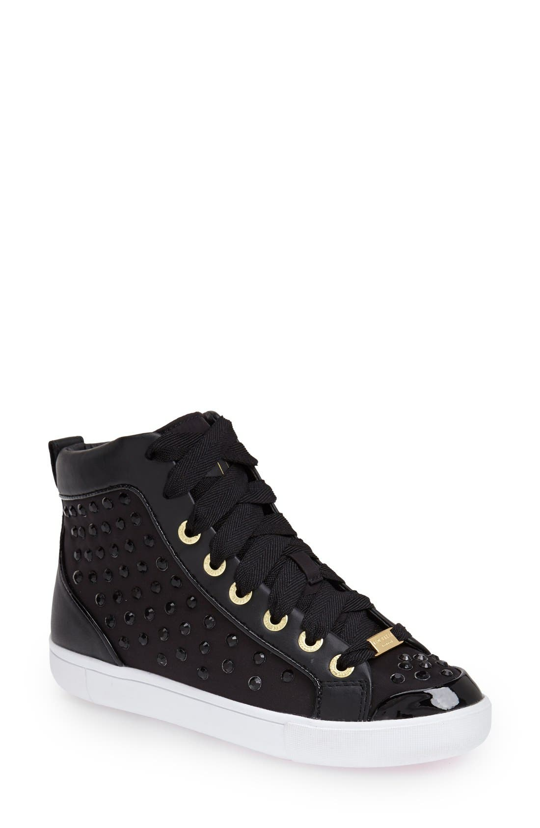 Main Image - Ted Baker London 'Beatrin' High Top Sneaker (Women)
