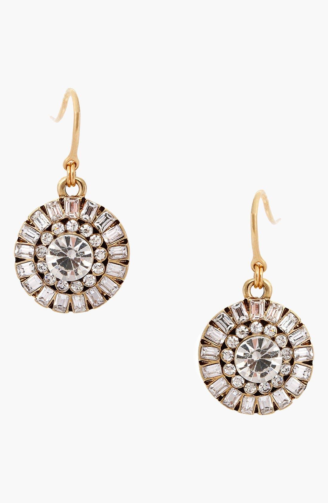 Alternate Image 1 Selected - Erickson Beamon Rocks 'Heart of Glass' Drop Earrings