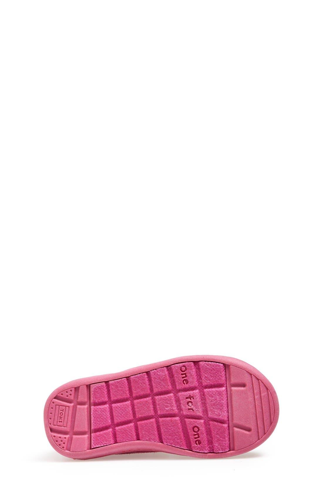 'Nepal - Tiny' Boot,                             Alternate thumbnail 4, color,                             Pink Multi Zigzag